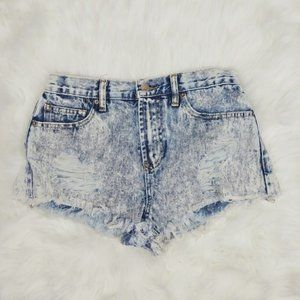Forever 21 Acid Wash Shorts